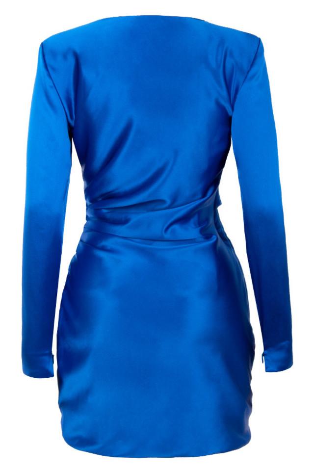 henrietta dress in blue