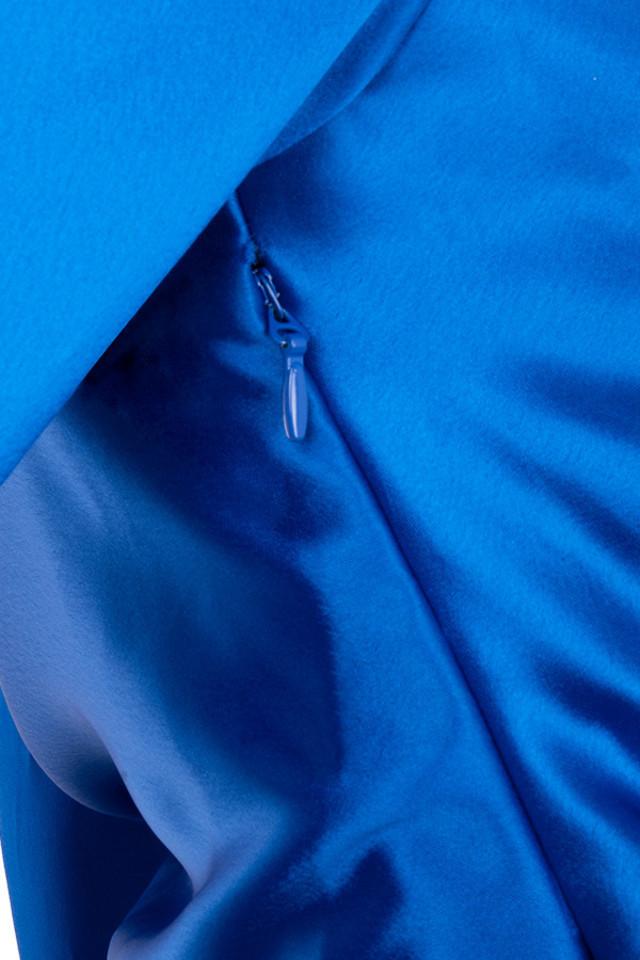 blue henrietta dress