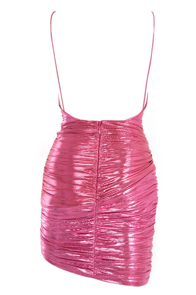 martina dress in pink