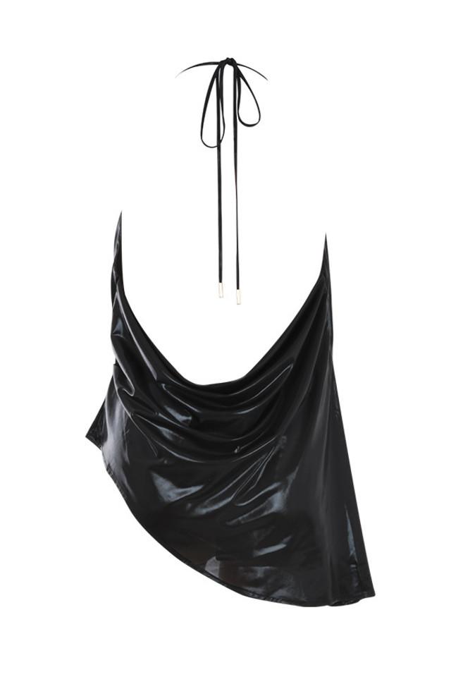rachelle top in black