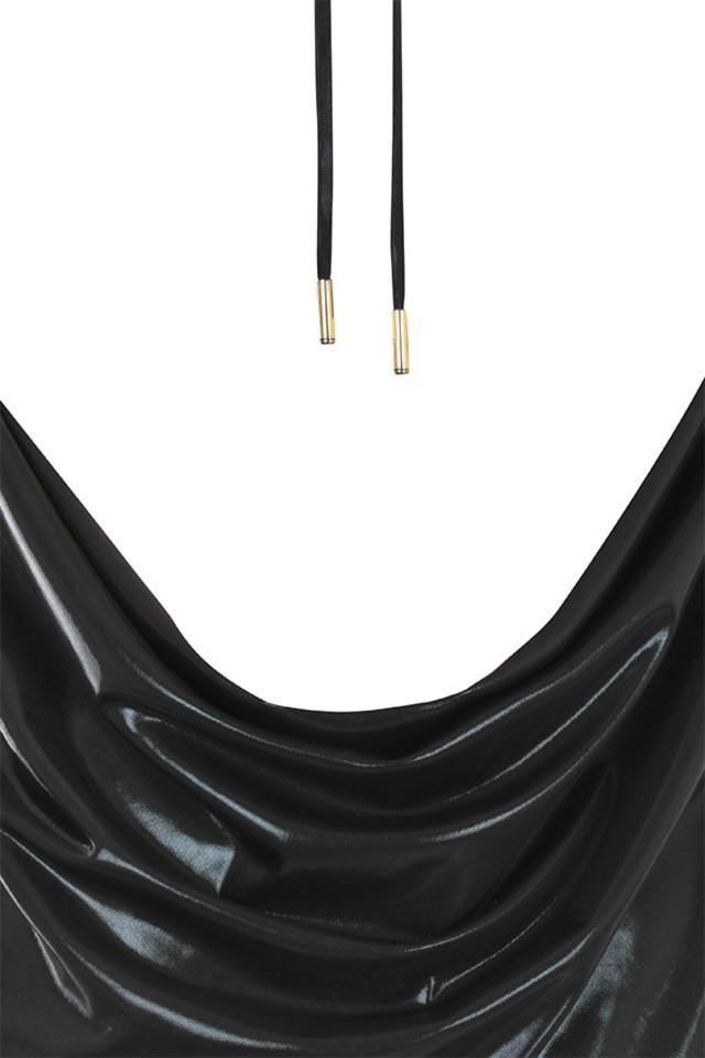black rachelle top