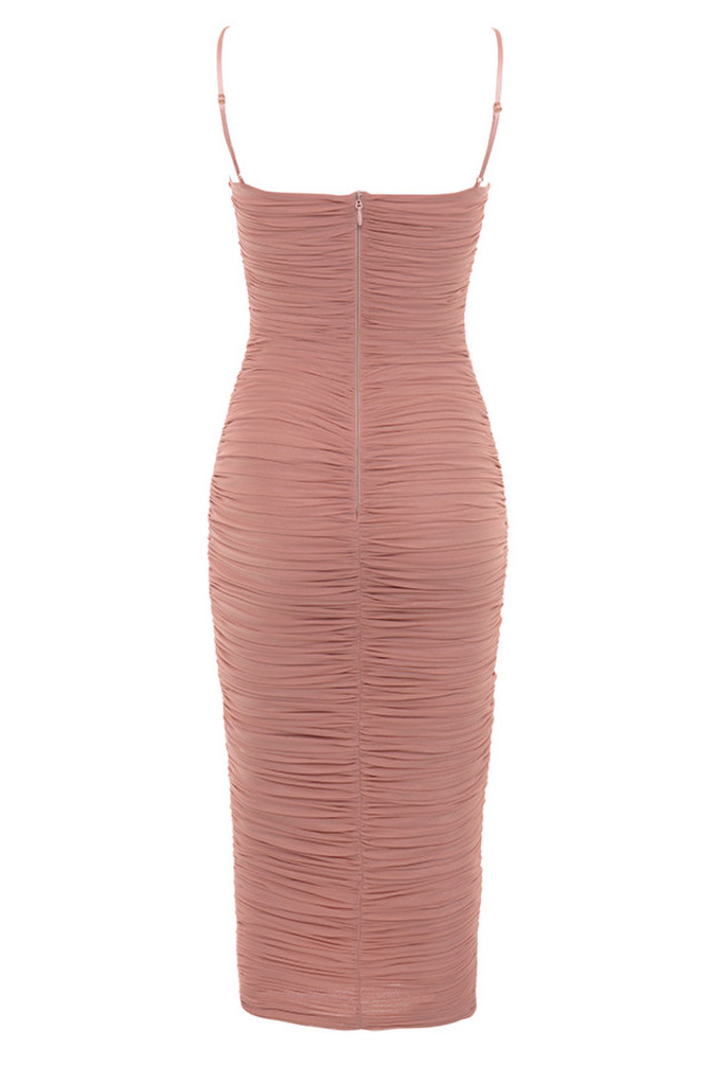sirene dress in rose