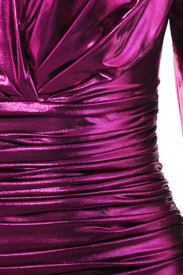 fuschia zandra dress