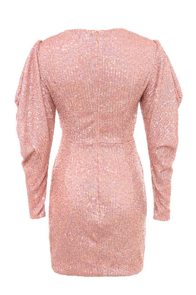 zurie dress in pink