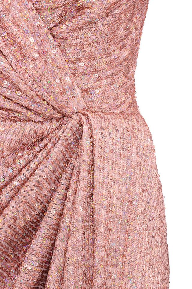 pink zurie dress