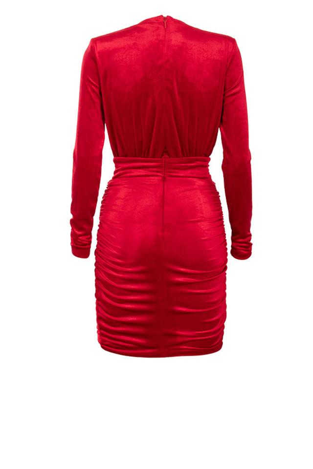 farrah dress in red