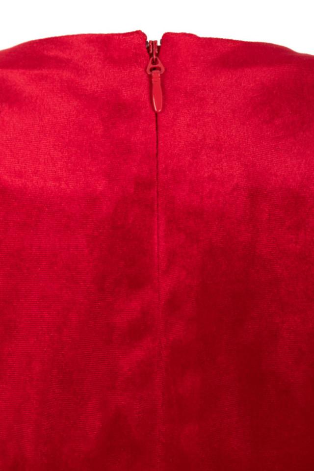 farrah red dress