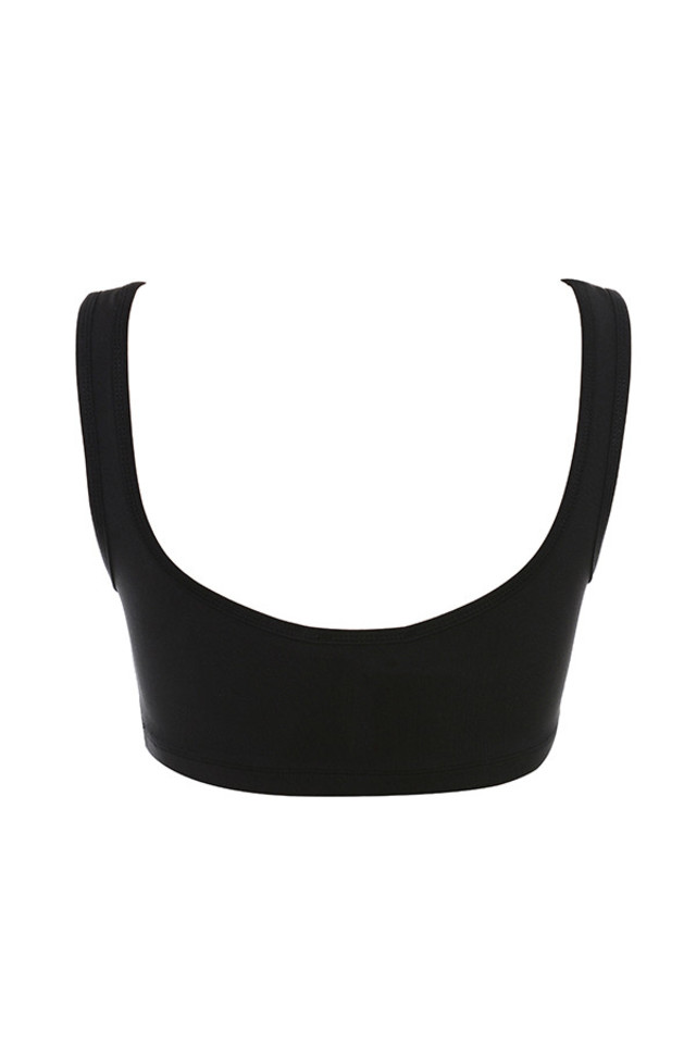 abbey top in black