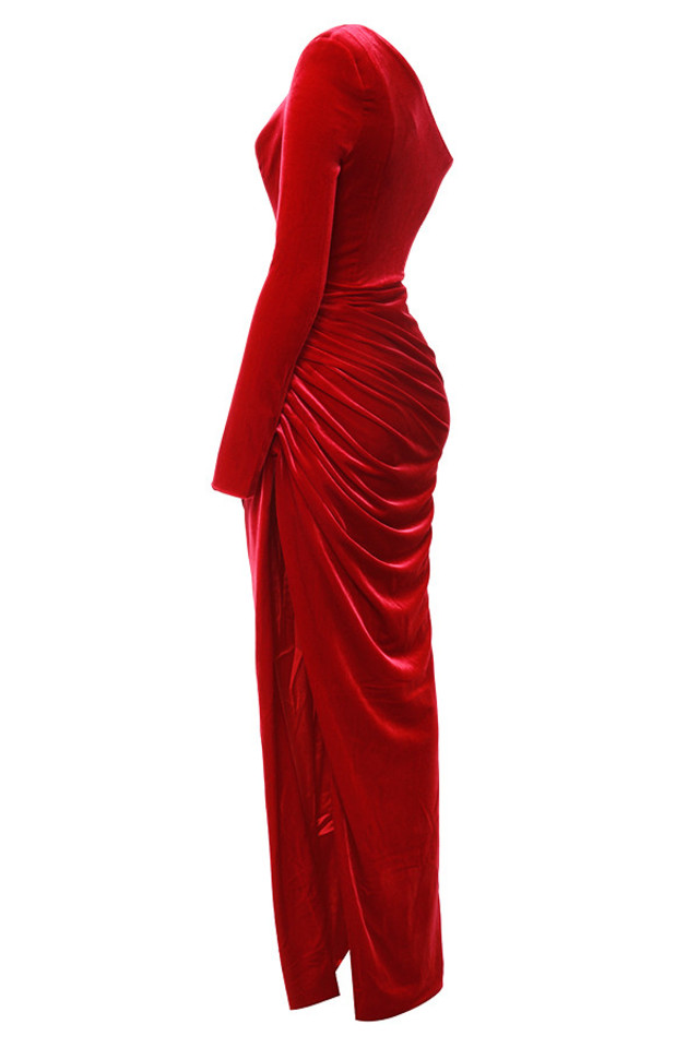 allegra in red