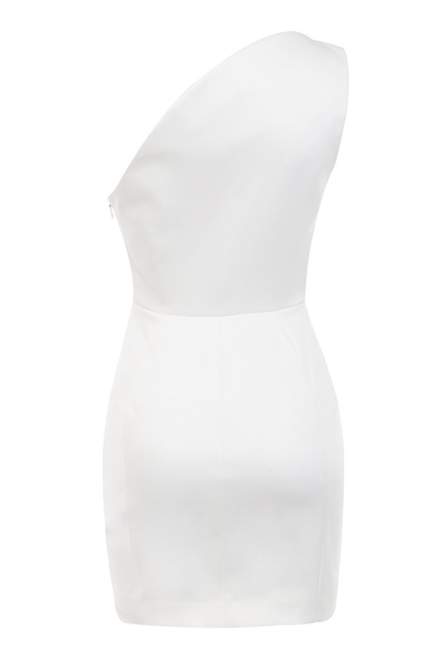 ayelen dress in white