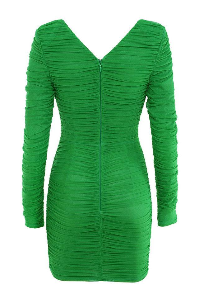 charmaine dress in green