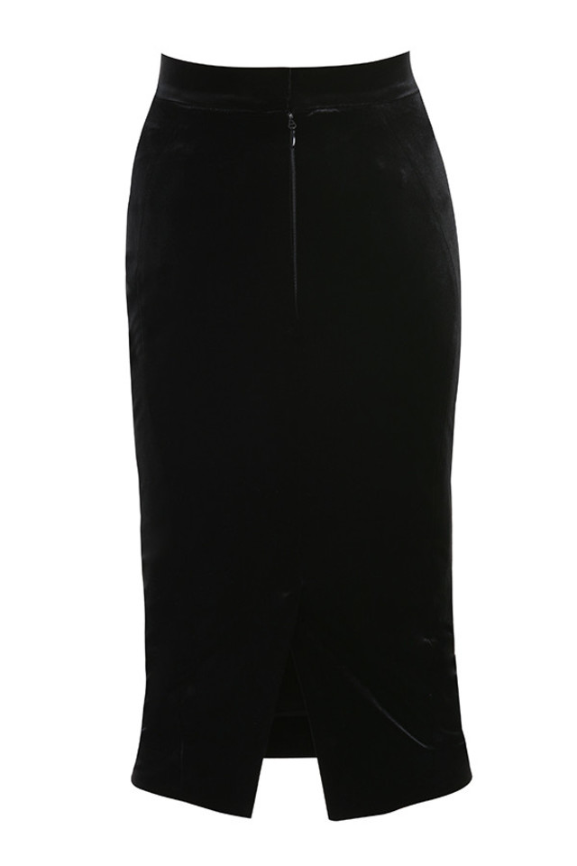 fern skirt in black