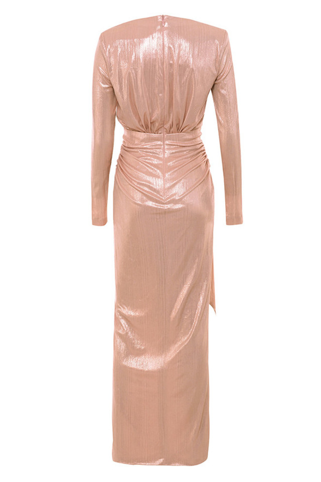 mina dress in pink