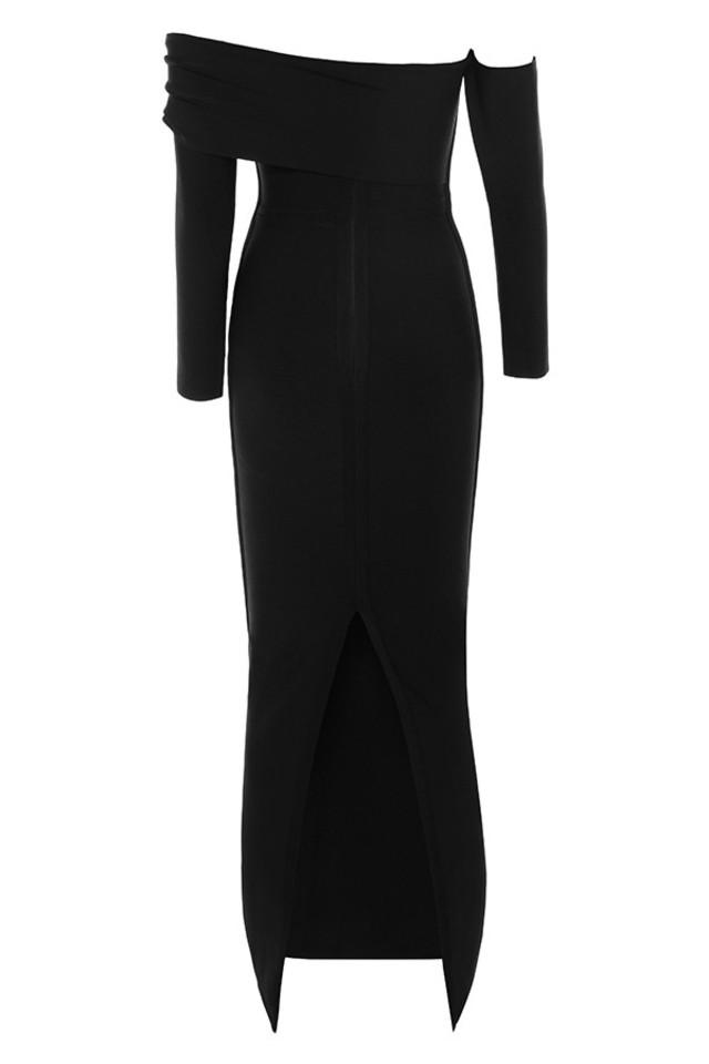 nalani dress in black