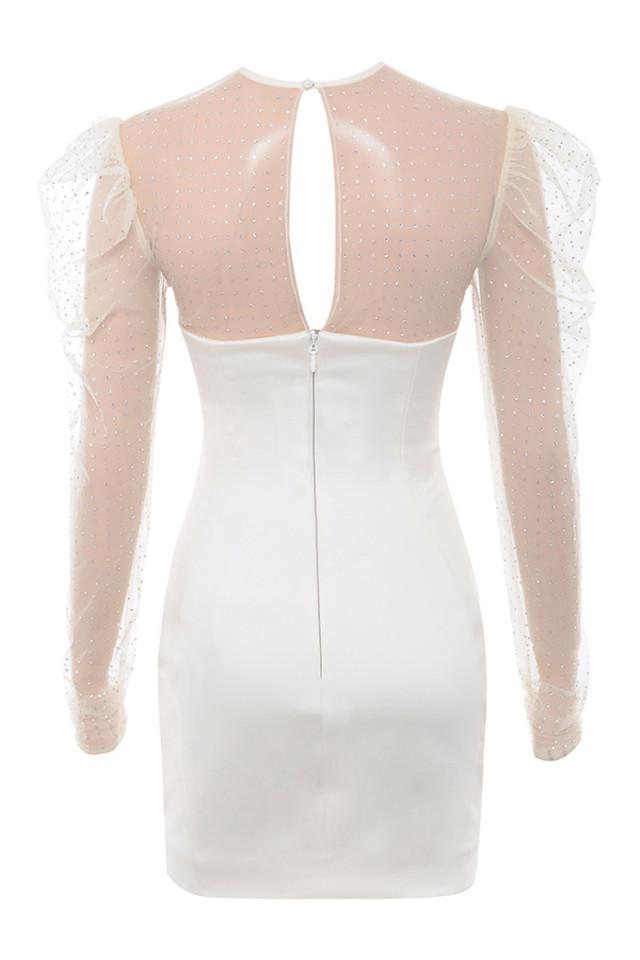 nikola dress in ivory