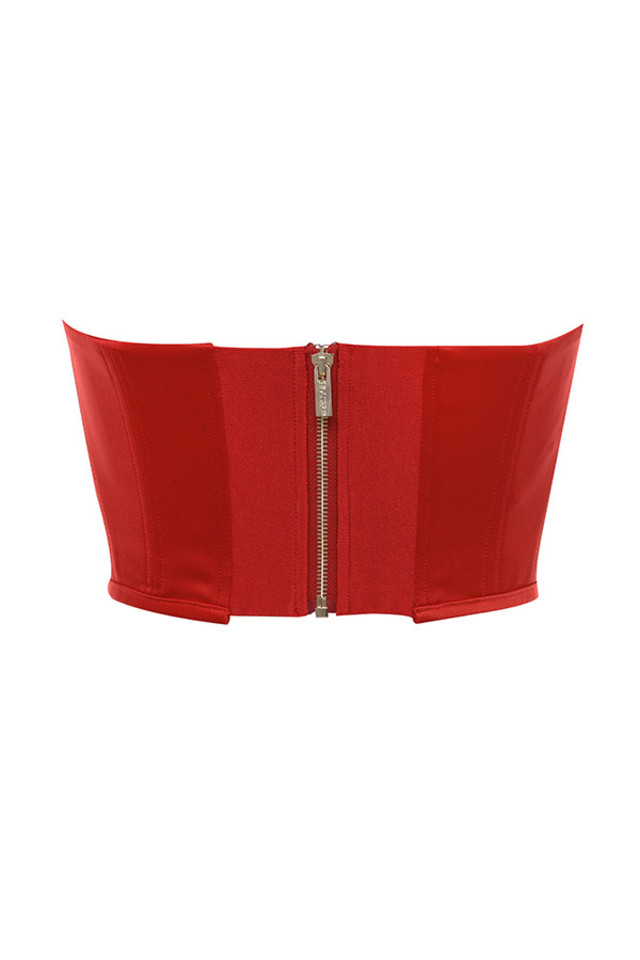 palais top in red