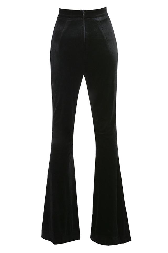 rihanna trousers in black