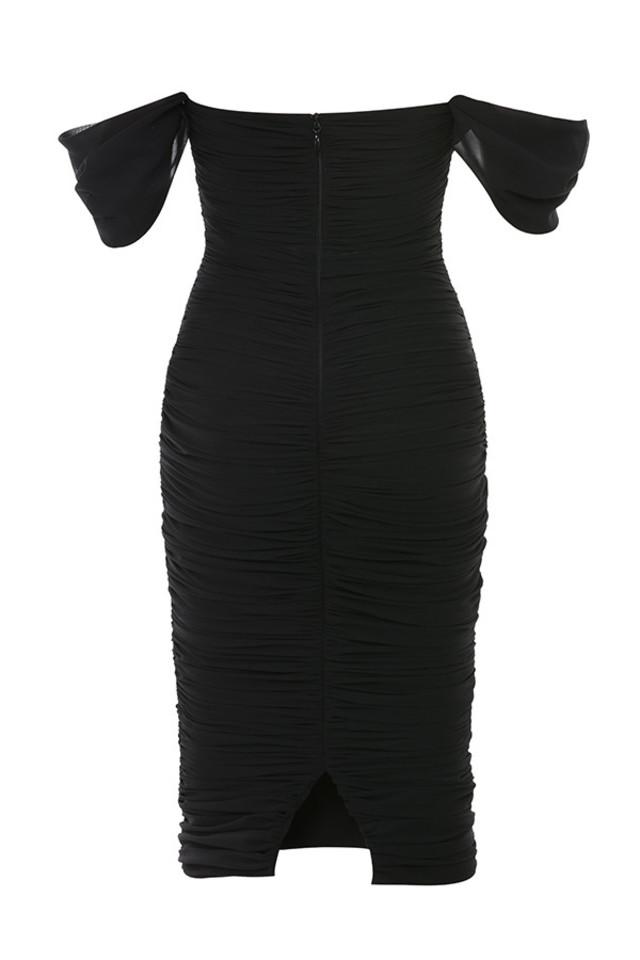 carlotta dress in black