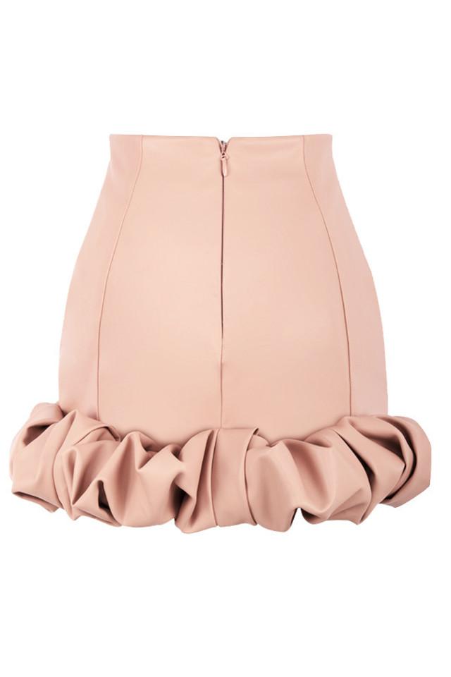 darya skirt in blush