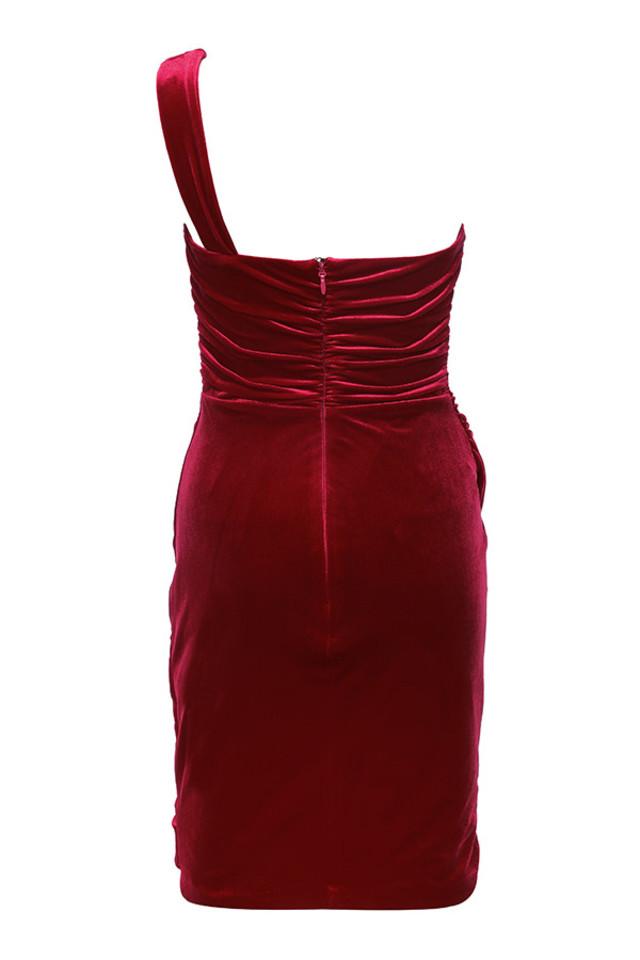 eliska dress in red