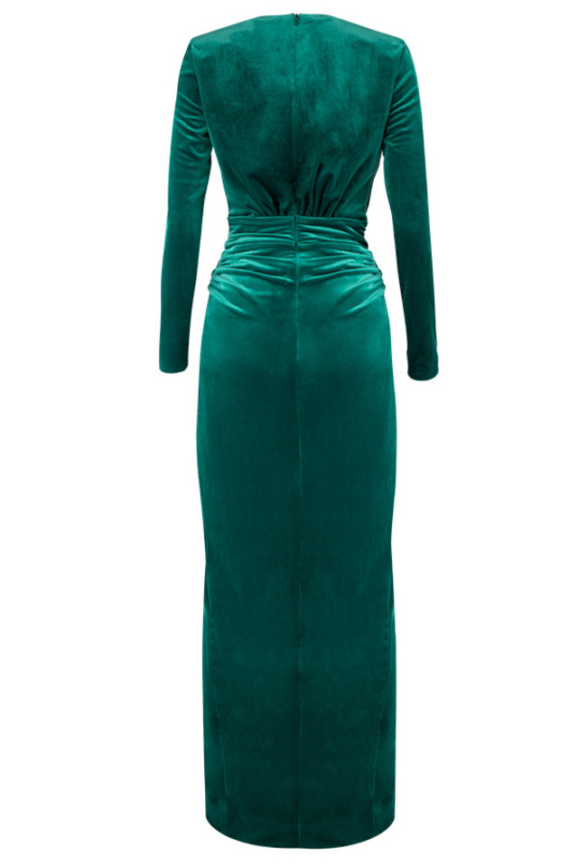 florence dress in green