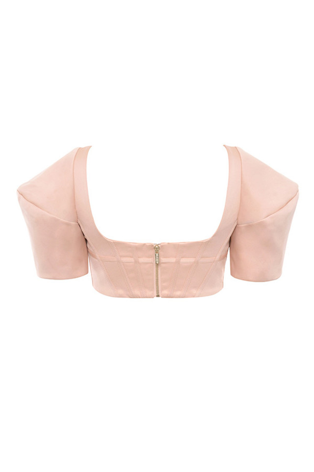 francine top in blush