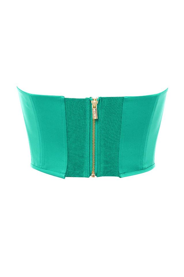 juana top in green