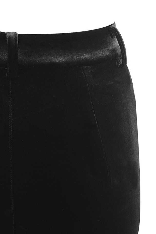 black marcella trousers