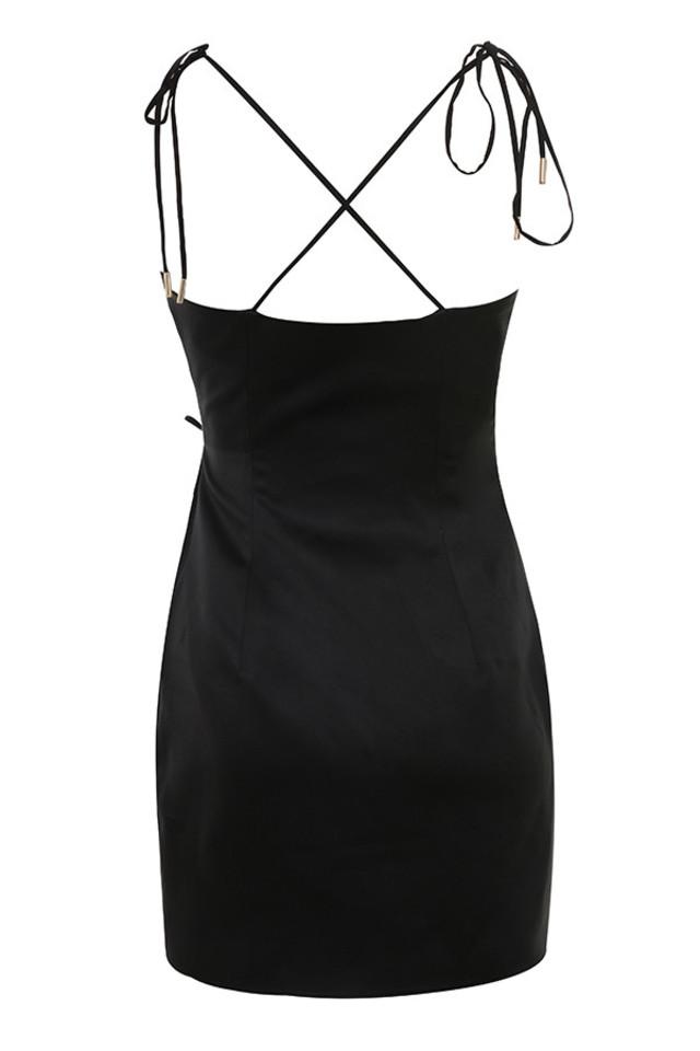 maryam dress in black