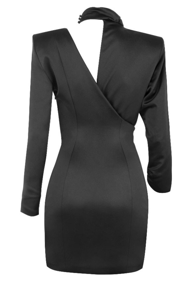 mirella dressin black