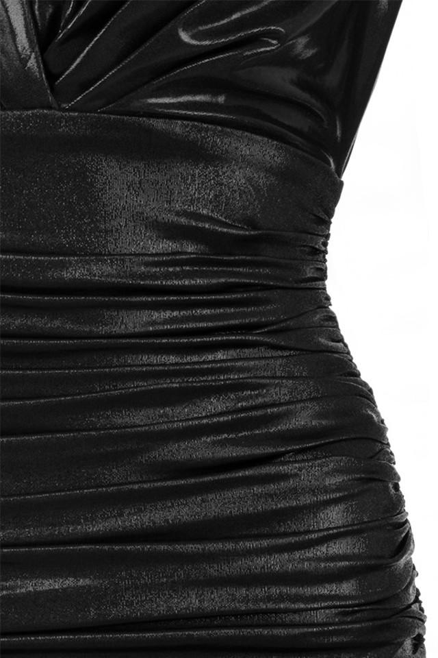 black zandra dress