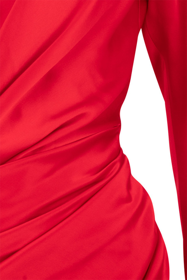 red rita jacket