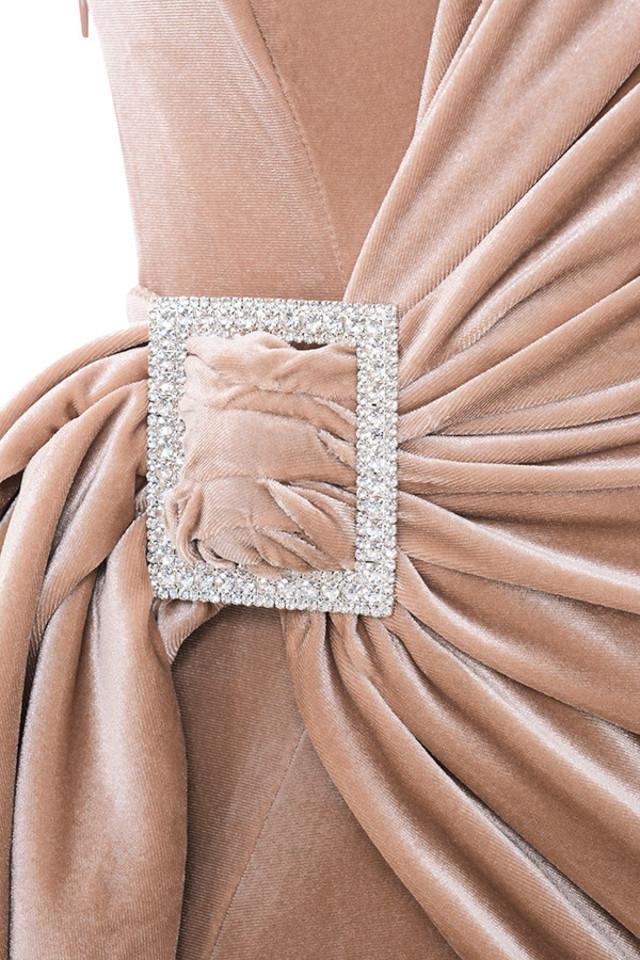 nude tamara dress