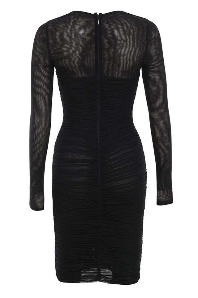 tavia dress in black