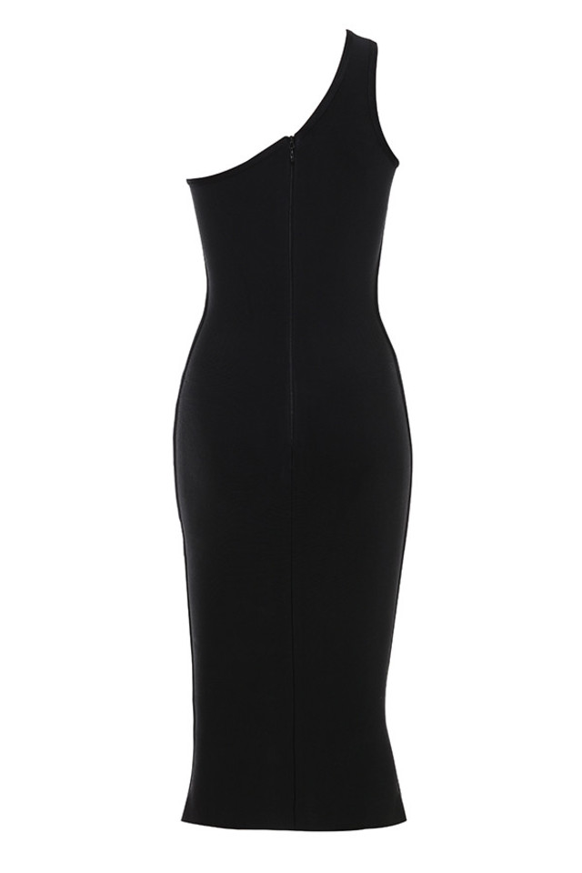 annette dress in black