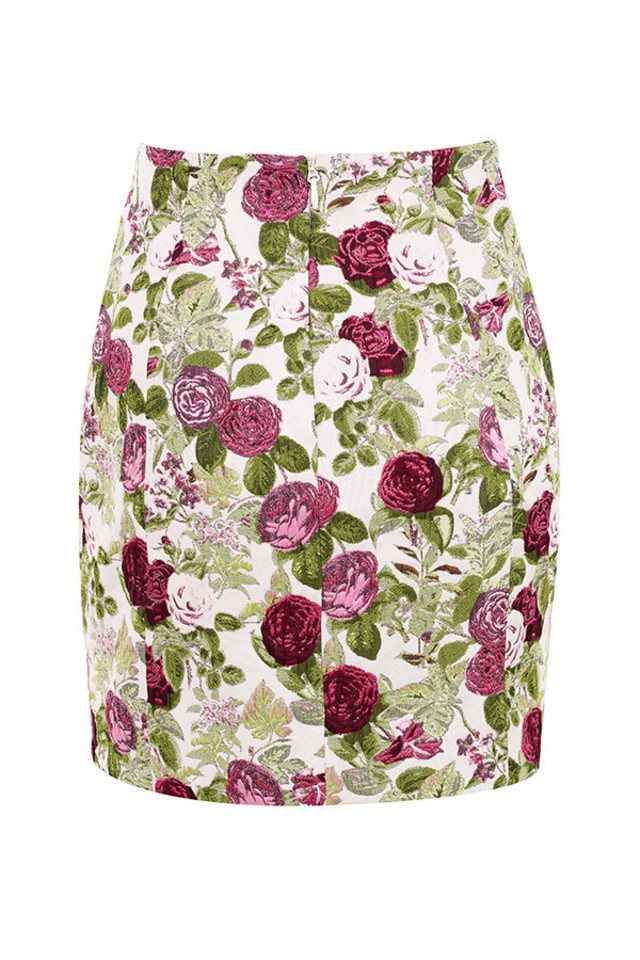 aurelia skirt in floral