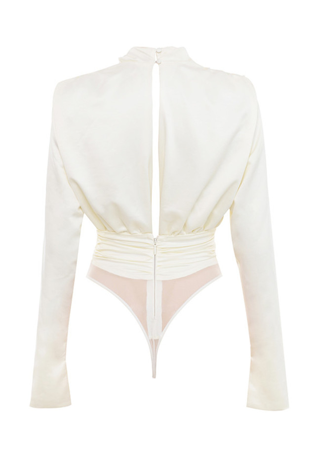 giselle top in ivory