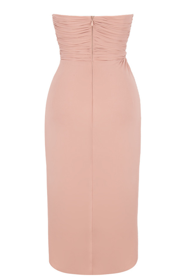 lula dress in blush