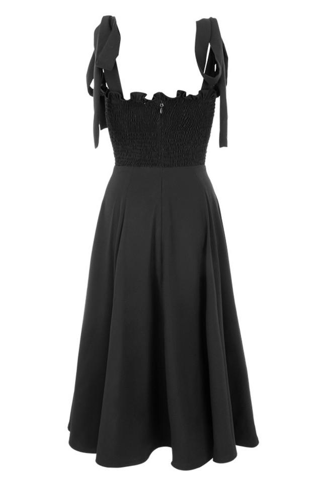 carmella dress in black