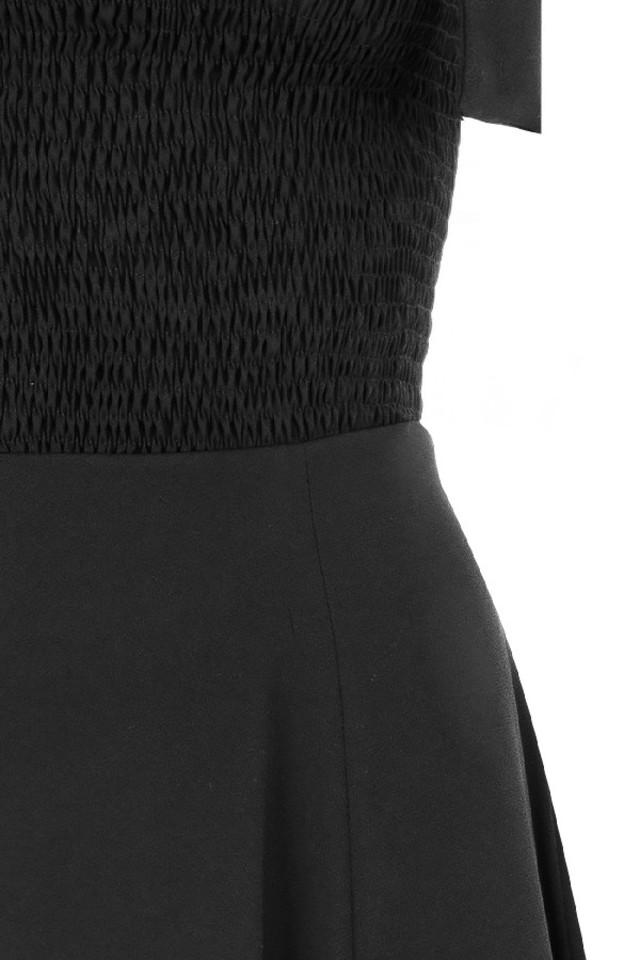 carmella black dress
