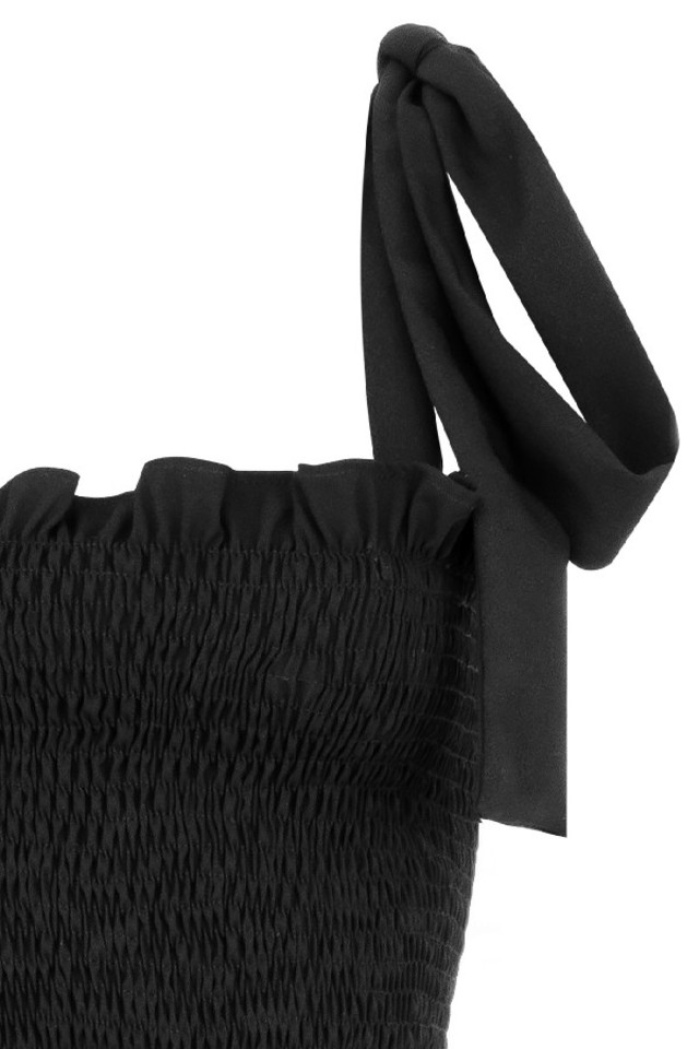 black carmella dress