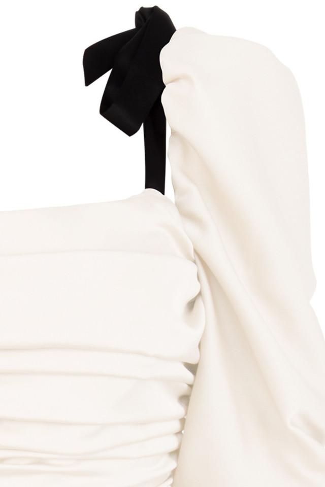 almaz bodysuit in ivory