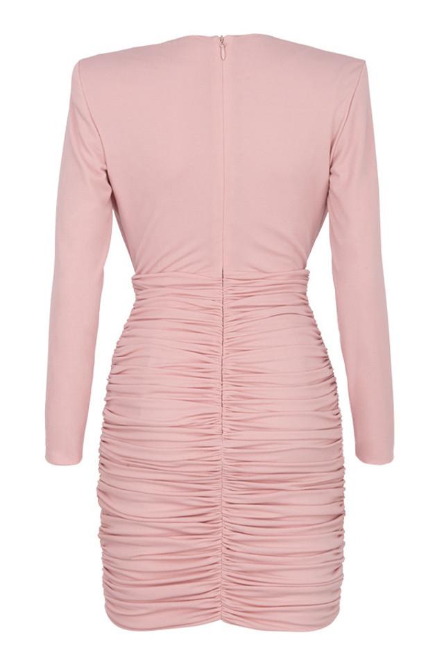 gigiana dress in pink