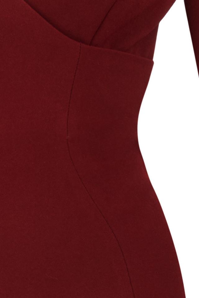 wine caprice dress