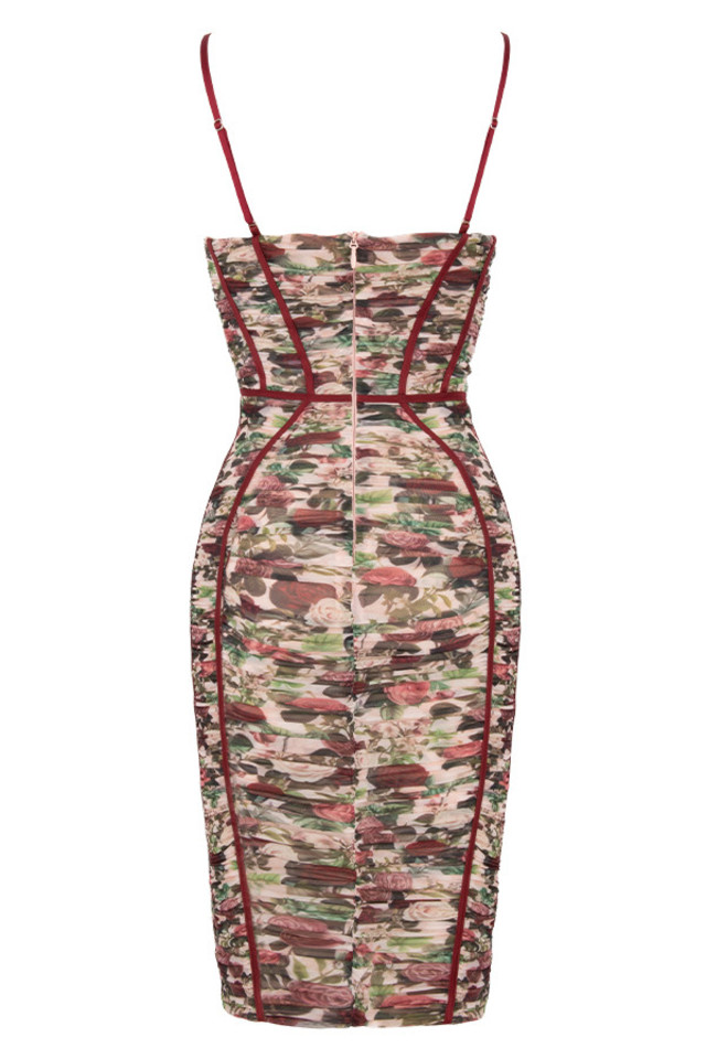 sable dress in floral
