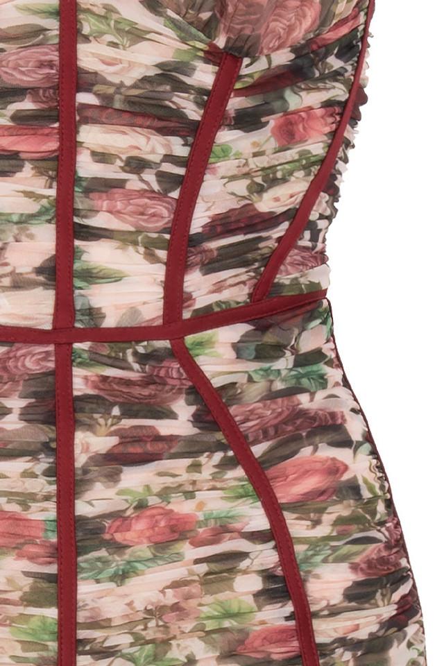 floral sable dress