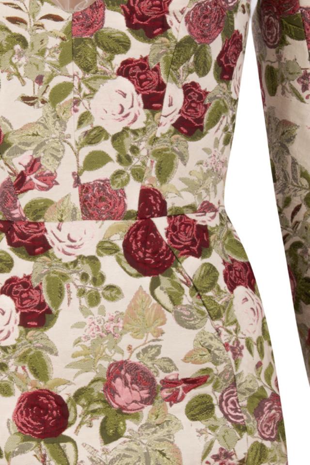 floral nola dress