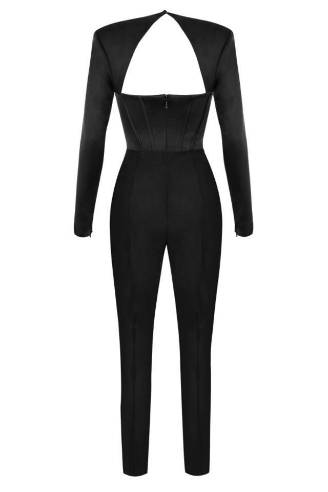 zoey jumpsuit in black