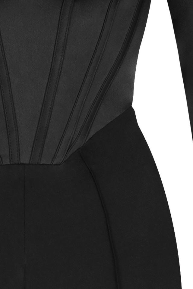 black zoey jumpsuit