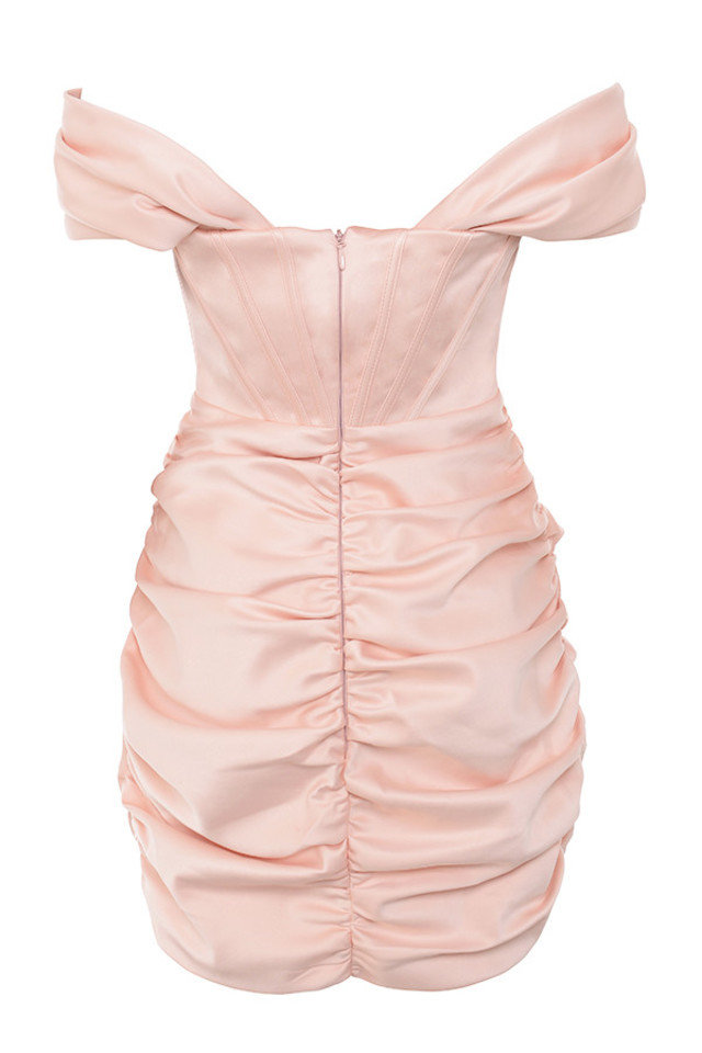 coraline dress in pink